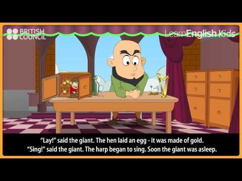 Jack and the beanstalk - Kids Stories - LearnEnglish Kids British Council