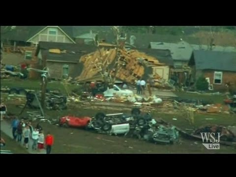 Oklahoma Tornado Video: Devastating Tornado Strikes Oklahoma City
