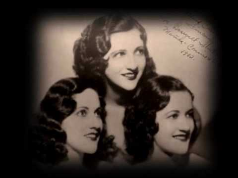 The Boswell Sisters - Down among the sheltering palms (1932).wmv