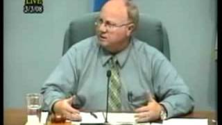 Willmar Mayor, Les Heitke Blows Up