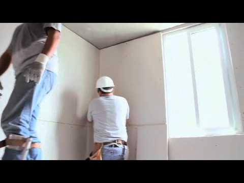 Aislamiento termico en techo y muro youtube for Como poner chirok en el techo