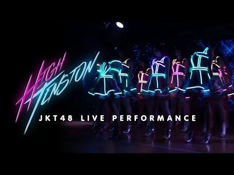 """Download JKT 48 - High Tension  Live at Press Conference """"HIGH TENSION"""" Single ke-20 JKT 48  Mp4 baru"""