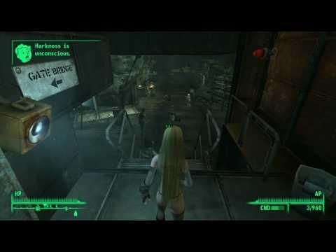 Fallout 3 Angel Mod + CSS Shojo mod = chaos