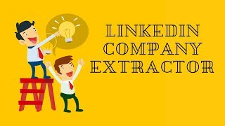 LinkedIn data Extractor : LinkedIn Company Extractor [FASTER]