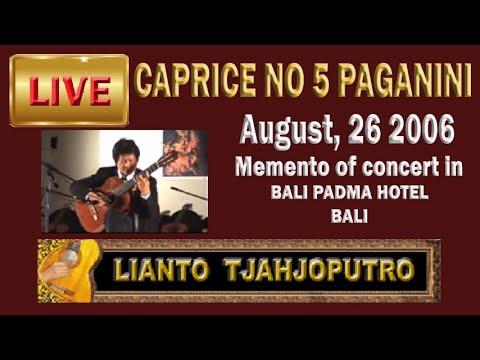 Lianto Tjahjoputro-Caprice No. 5 - Paganini (guitar)