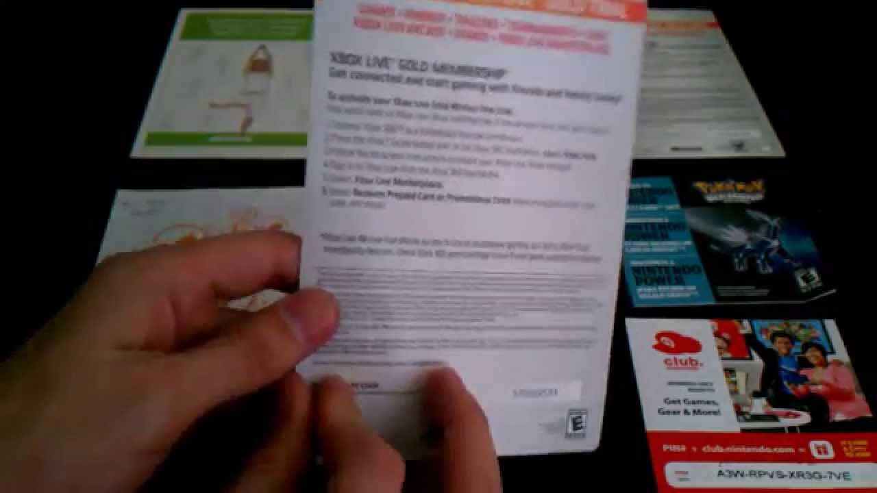 Nintendo Xbox Live Free Xbox Live Gold And