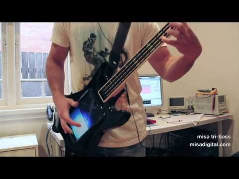 misa tri-bass digital guitar demo