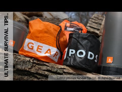 Best SURVIVAL Kit? GearPODs Survival System - REVIEW - Pre-Made & DIY. Survival & Emergency Kit