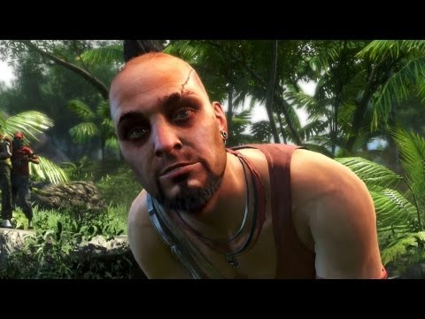 Far Cry 3 - Definition of Insanity Cutscene Gameplay (Xbox 360)