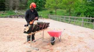 The Truncator 6Pro chainsaw sawhorse