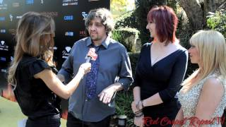 Craig McCracken, Lauren Faust & Tara Strong at the 6th Annual Diamond In The RAW-Action Icon Awards