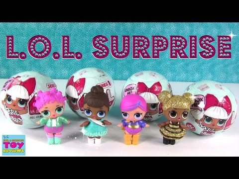 L.O.L  Surprise Baby Doll Cries Color Change Wets Spits Unboxing Toy Review   PSToyReviews