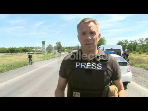 UKRAINE: OSCE PLANE CONVOY TURNS BACK