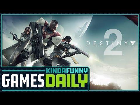 Is Destiny 2 a Paid Beta? - Kinda Funny Games 07.18.17
