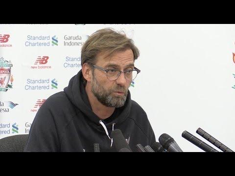 Jurgen Klopp pre-match press conference - Liverpool v Everton