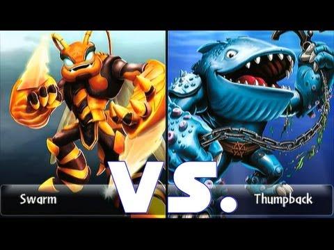 Skylanders giants swarm 15 vs thumpback 15 lets play duellmodus aqu dukt german deutsch - Skylanders thumpback ...