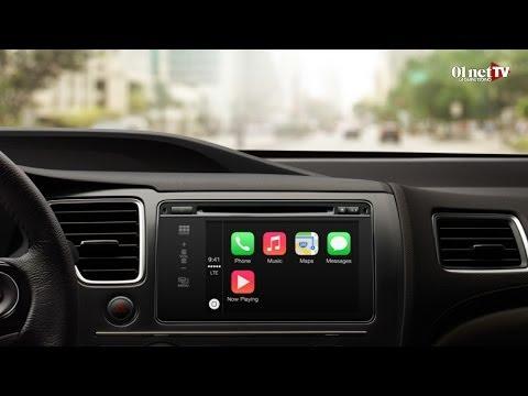 Apple CarPlay : l'iPhone au centre de la voiture connectée
