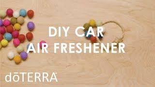 Better than the New Car Smell- DIY All Natural Car Air Freshener