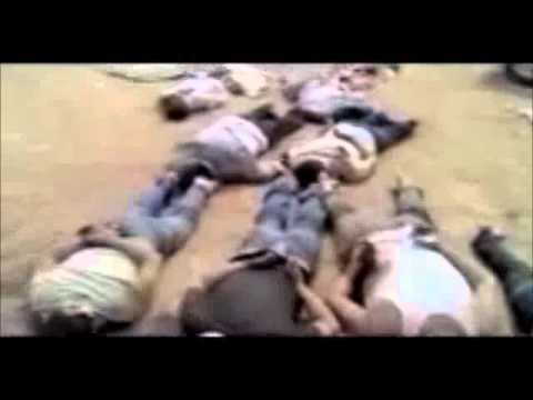 Graphic- Al-Qaeda Officially Claims Responsibility For Mass Execution Of 13 Men- Syria (Video 1)