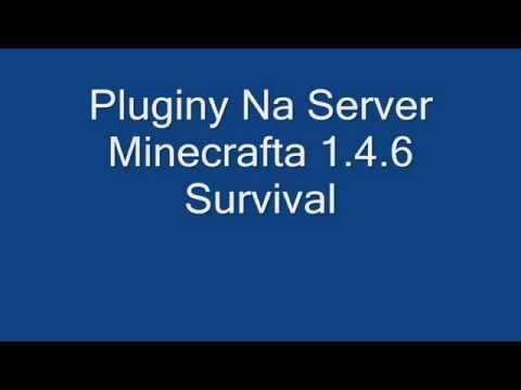 Pliki serwerowe 1.4.5 i 1.4.6 Minecraft bukkit z pluginami download