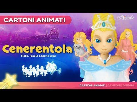 Cenerentola storie per Bambini   cartoni animati italiano   Storie della buonanotte