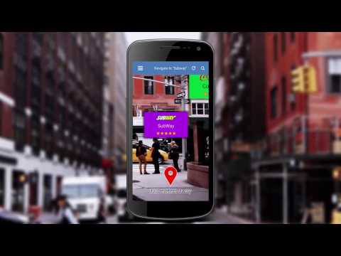 Augmented Reality Location finder App Demo | Best Augmented Reality App