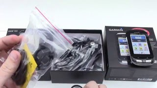 Garmin Edge 1000 Unboxing HD