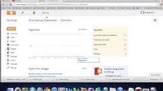 Create a Blog Using Blogger - Tutorial 2013