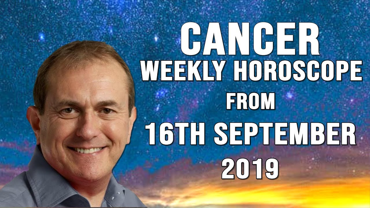 Weekly Horoscopes from 16th September 2019