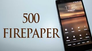 500 FIREPAPER: CHANGING WALLPAPERS MADE EFFORTLESS