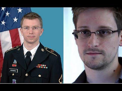 Edward Snowden y Bradley Manning  acosados por el poder; Rubén Luengas