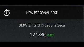 Assetto Corsa -- BMW Z4 GT3 -- Laguna Seca -- 1:27.836