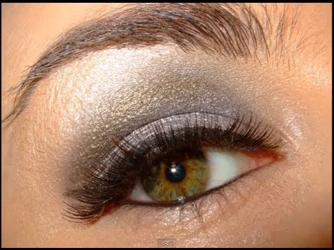 Smokey Silver Clubbing Make up Look Tutorial
