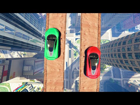 EXTREMELY DANGEROUS CITY RACE! (GTA 5 Funny Moments)