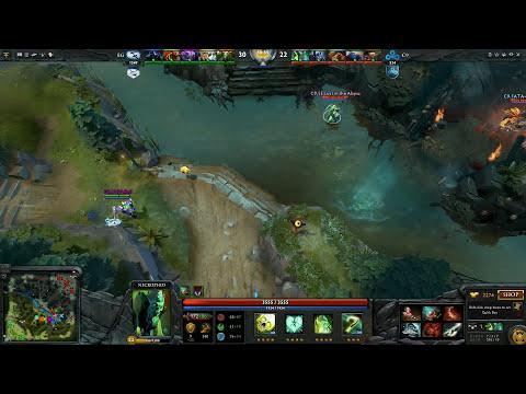 Saving EternaLEnVy Necrophos - EG vs Cloud9 Dota 2