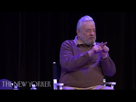 """Stephen Sondheim on """"Sweeney Todd"""" and His Process for Writing a Musical –New Yorker Festival"""