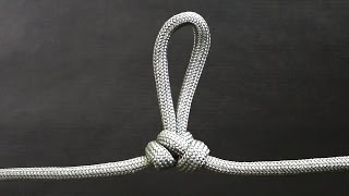 How to tie Alpine Loop knot