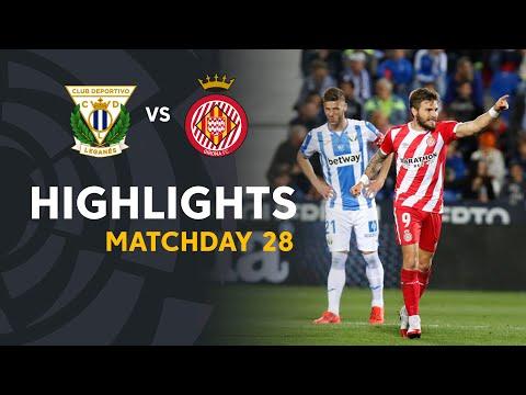 Highlights CD Leganes vs Girona FC (0-2)