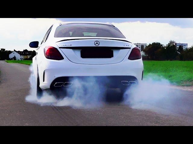 Mercedes C63 AMG Sound & Acceleration Onboard 0-250 ...