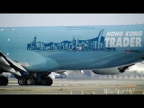 [Hong Kong Trader] Cathay Pacific Airways Cargo Boeing 747-8F (B-LJA) takeoff from NRT/RJAA RWY 34L