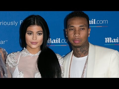 Kylie Jenner & Tyga FIRST Official Red Carpet Appearance Together!