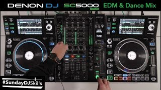 Denon DJ Prime Series Performance - EDM & Dance DJ Mix - #SundayDJSkills
