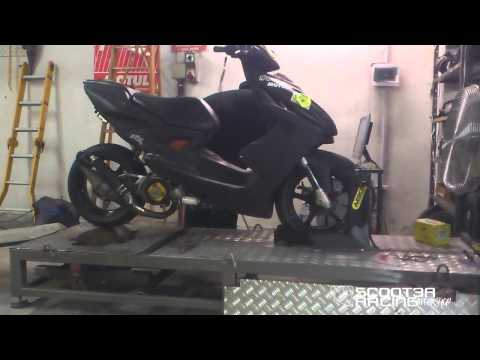 Yamaha Aerox 7T 25.89CV By Scooter Racing Workshop