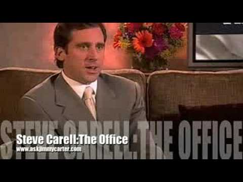 Steve Carell interview about The Office