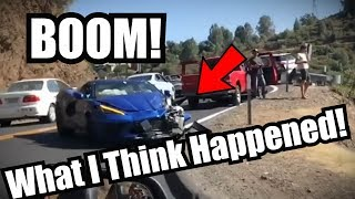 2020 Corvette C8 and Ferrari 360 Crashed this weekend!