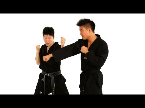 How to Do the Inside Block Technique | Taekwondo Training Image 1