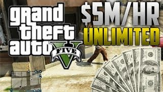 GTA 5 Online Unlimited Money Glitch - AFTER PATCH 1.04 - Bike Method - $5M/HR - TUTORIAL