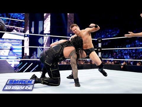 Roman Reigns Vs. The Miz: Smackdown, August 15, 2014 video
