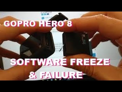 GoPro hero 8 freeze and block - this is the video I send to support hub   first gopro maybe last ...