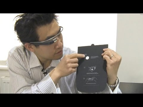 Google Glass UK Explorer 2GB Edition Unboxing